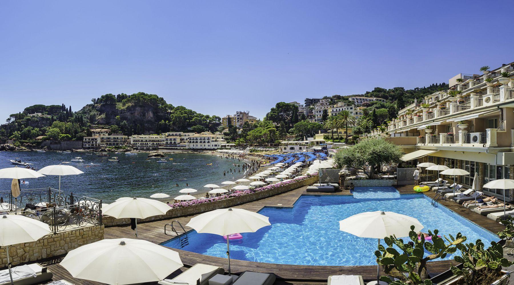 Grand Hotel Mazzaro Sea Palace, Taormina, Sycylia