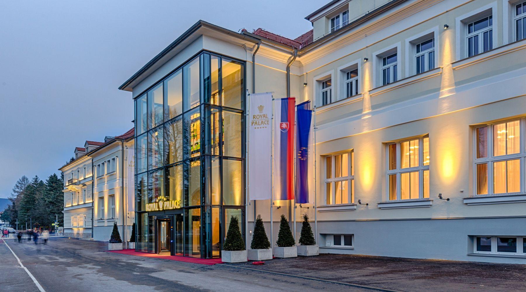 Royal Palace, Turczańskie Teplice, Słowacja