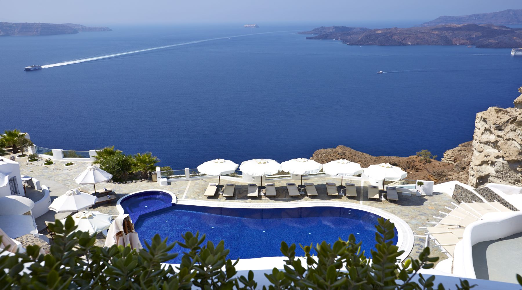 Volcano's View Hotel, Santorini