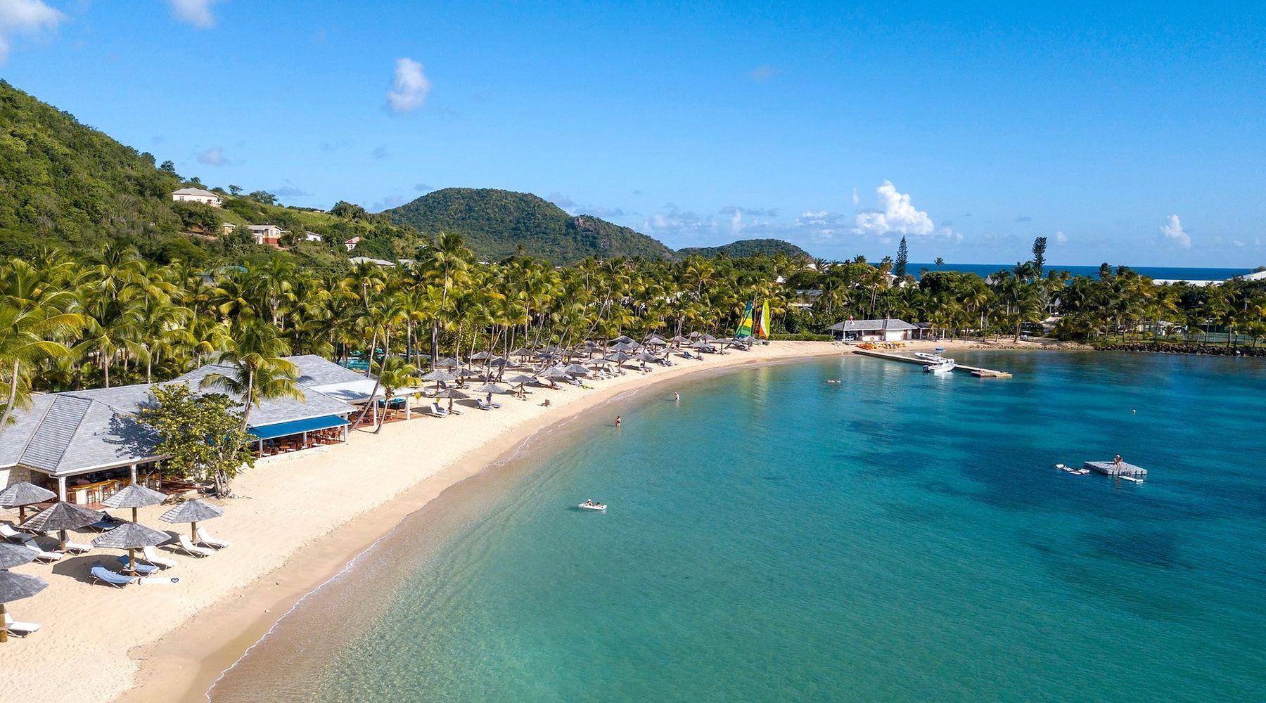 Curtain Bluff, Antigua, Karaiby