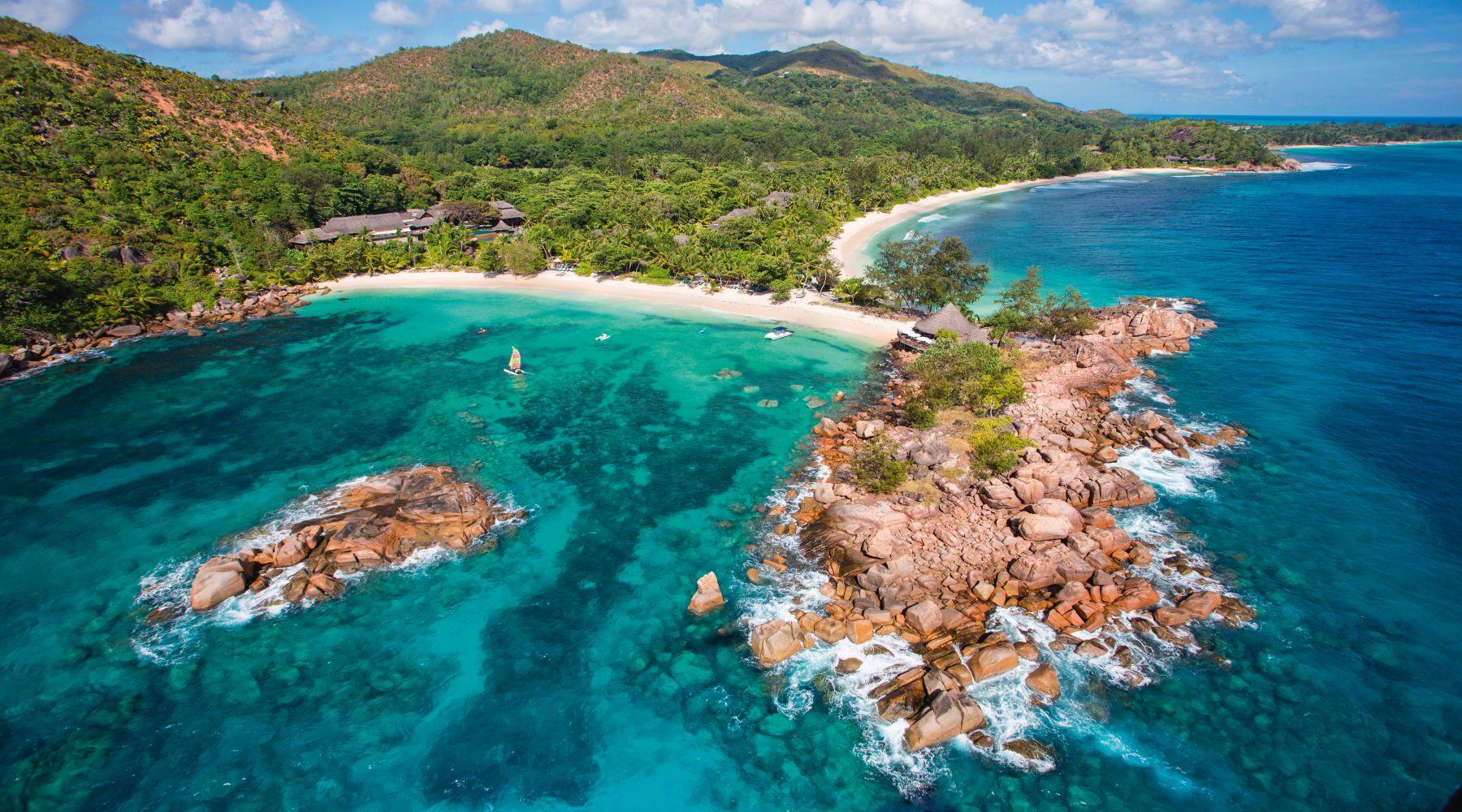 Constance Lemuria, Wyspa Praslin, Seszele