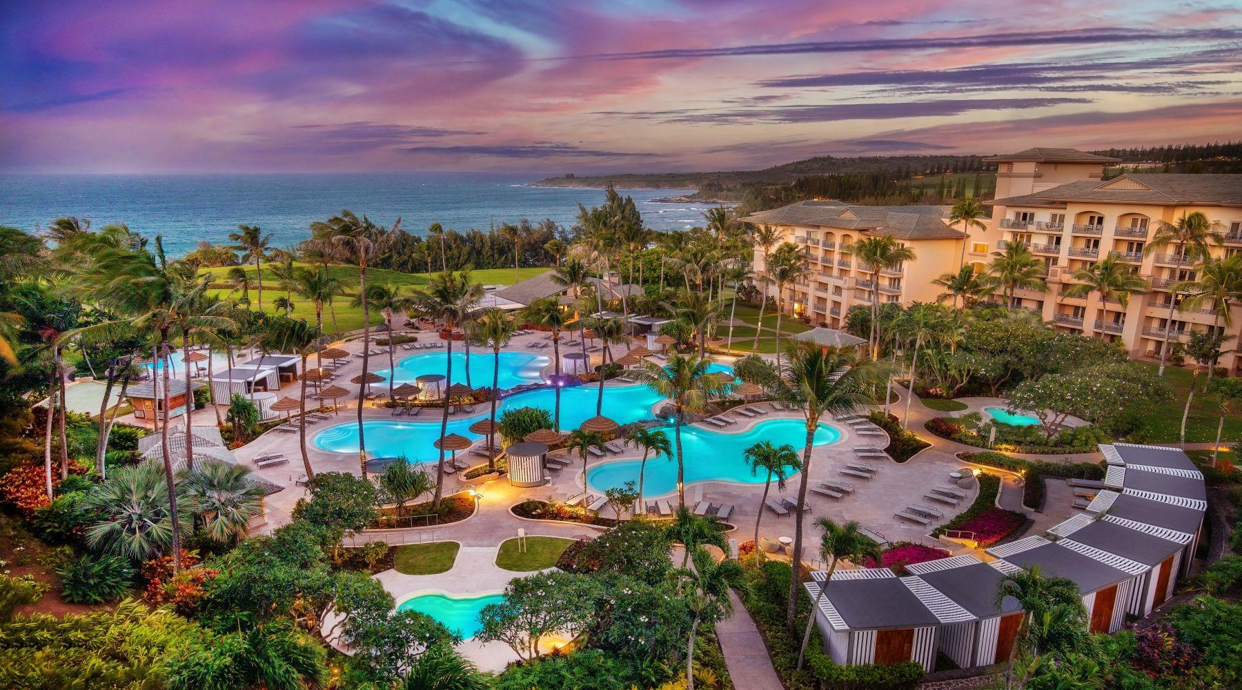 Ritz Carlton Kapalua, Maui, Hawaje