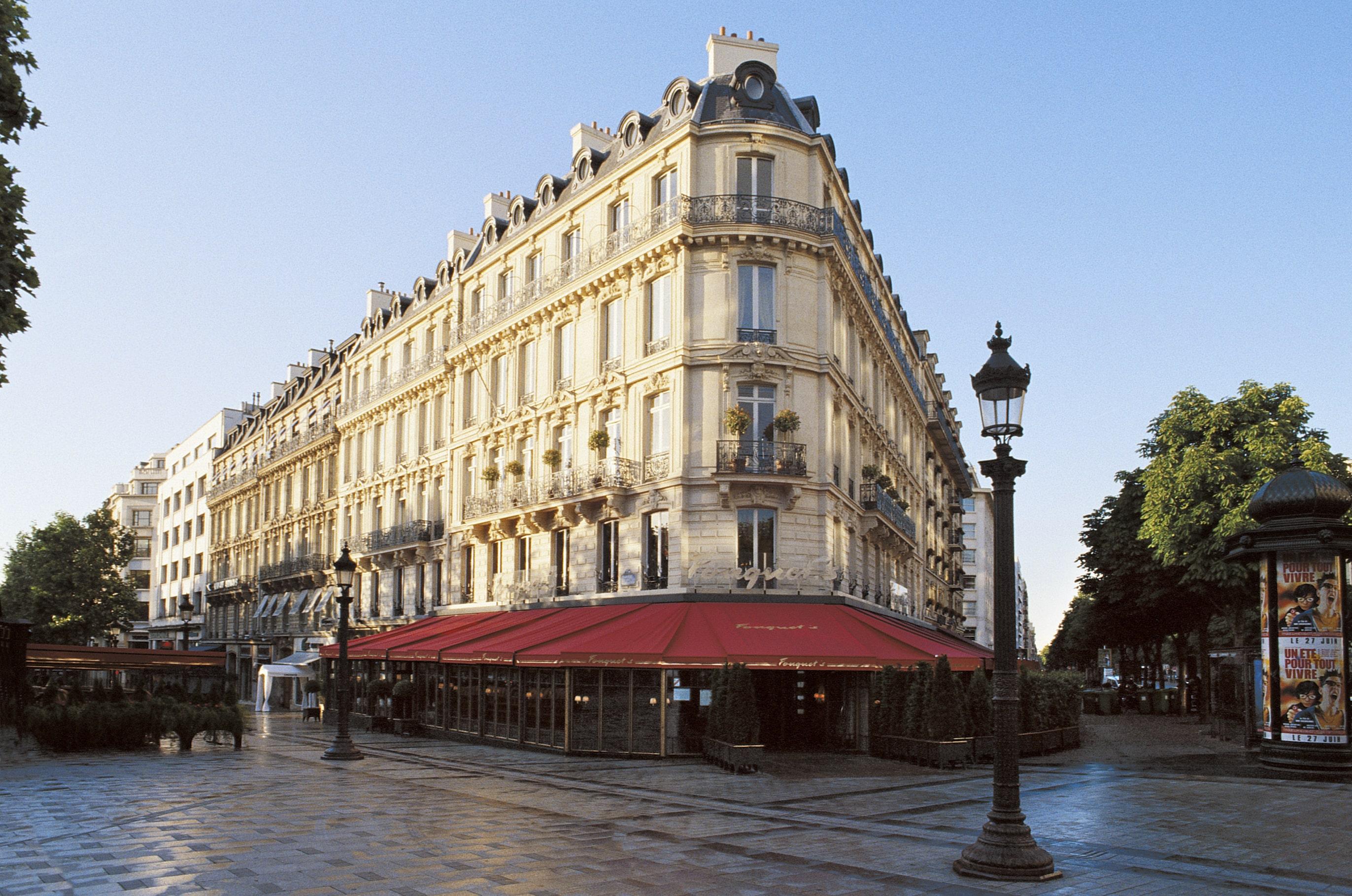 Hotel Fouquet's Barrière, Paryż