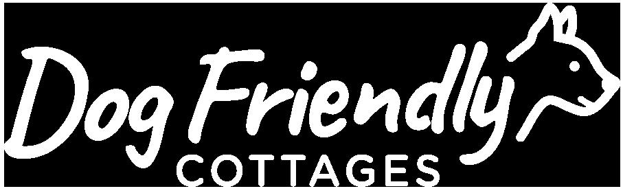 Dog Friendly Cottages logo white