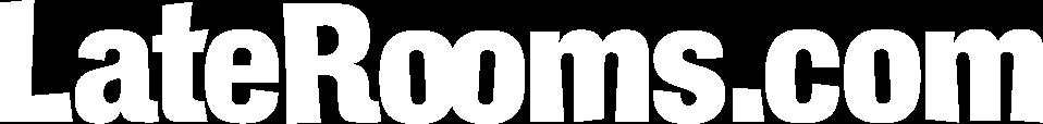LateRooms logo white