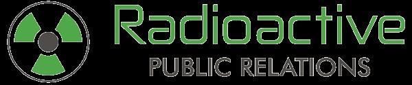 Radioactive PR logo