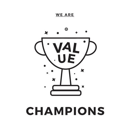 Value champions icon