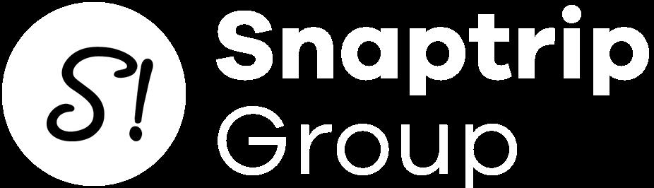 Snaptrip Group logo in white