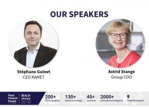 Kamet ventures @ the 2018 Paris Fintech