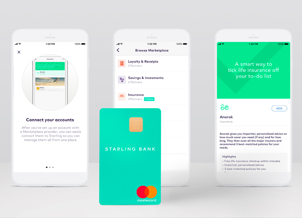 Starling Bank and Anorak have joined forces