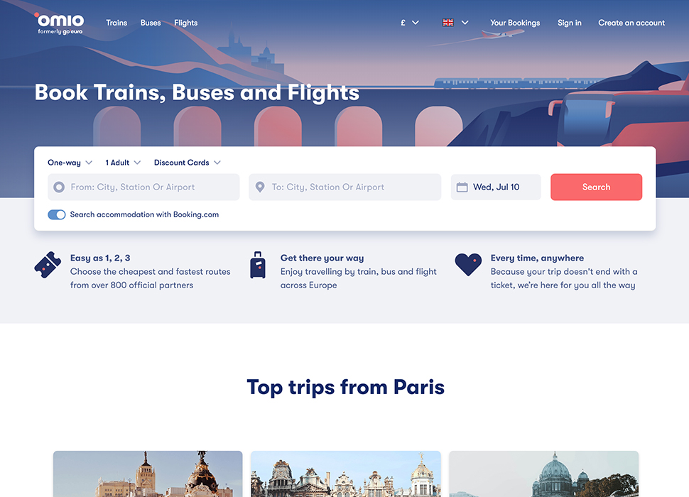 Omio chooses Setoo to transform its travel insurance offering in the UK