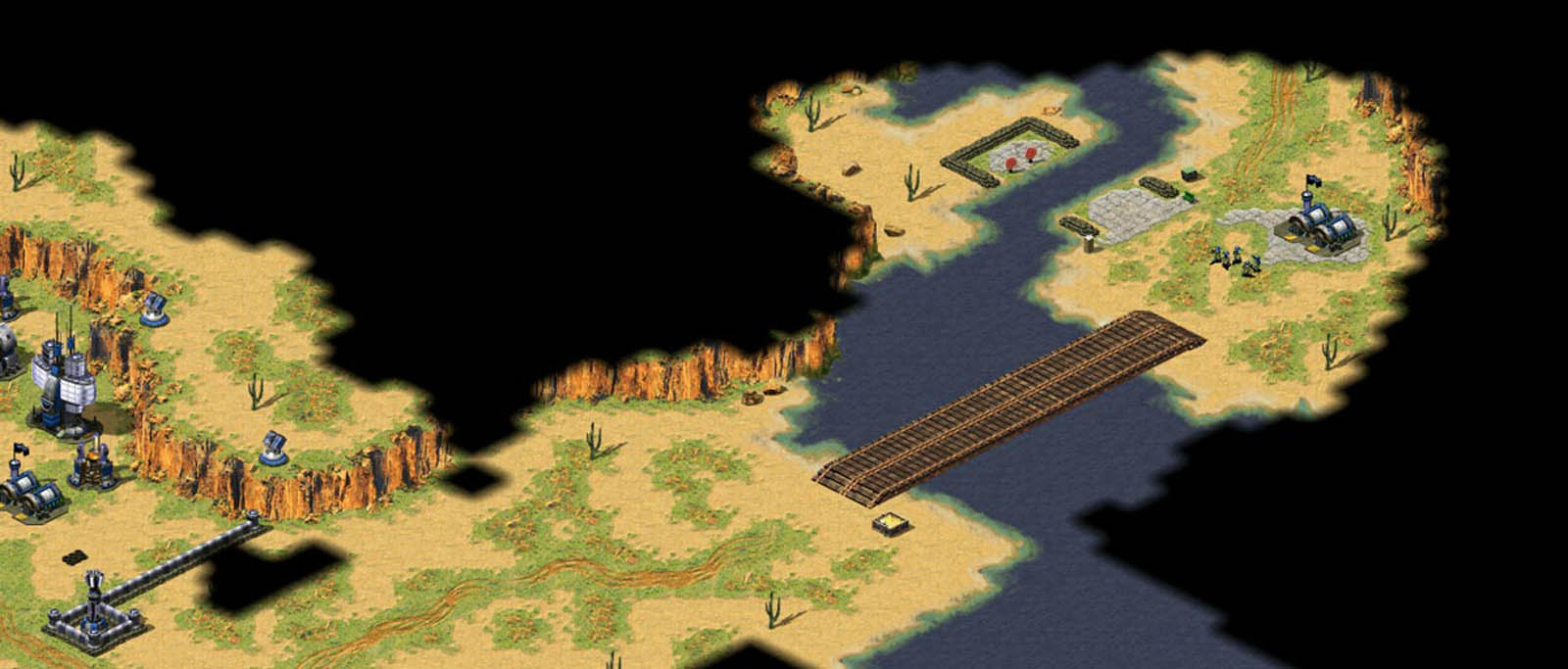 Screen shot of Command and Conquer: Red Alert game play