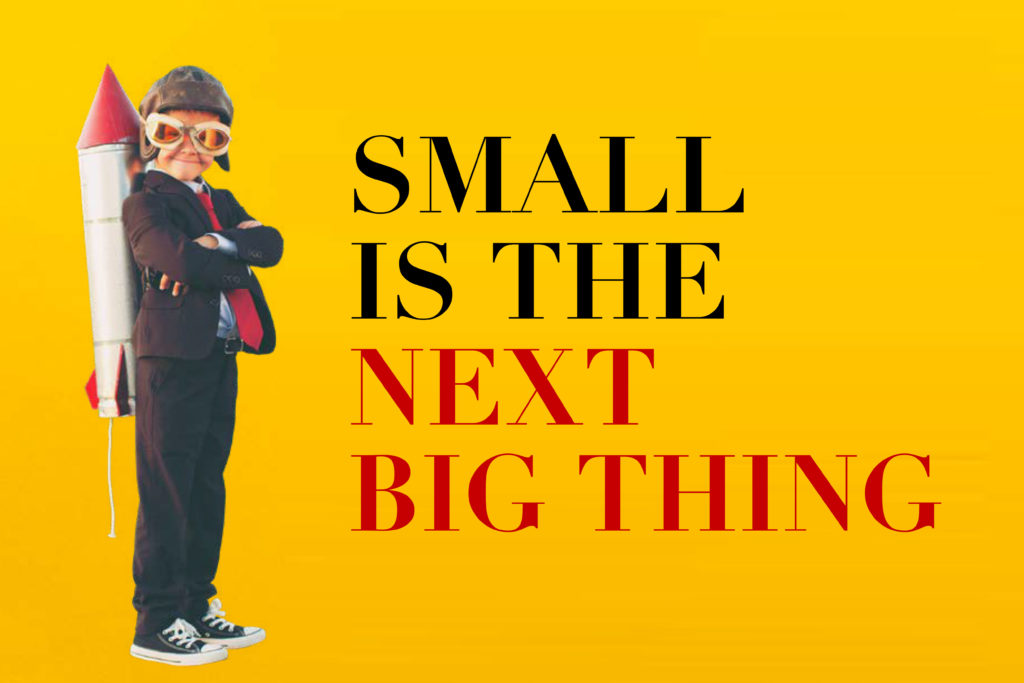 Small is the next big thing : by Michael Niddam