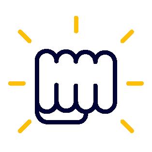 Punching Fist Icon