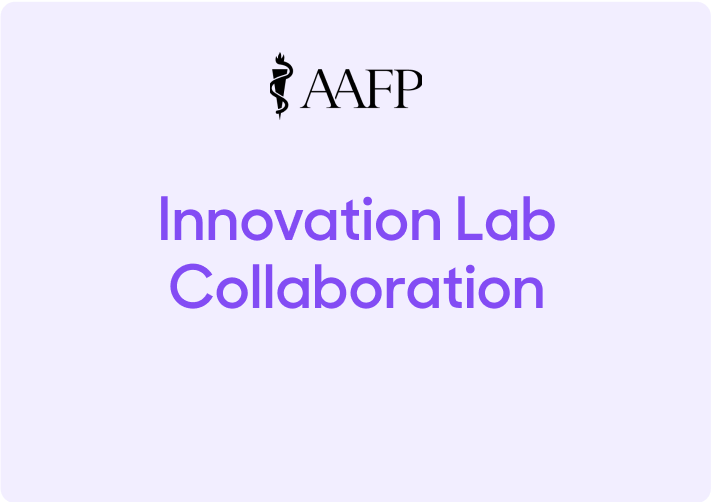 AAFP Announces New Innovation Lab Collaboration