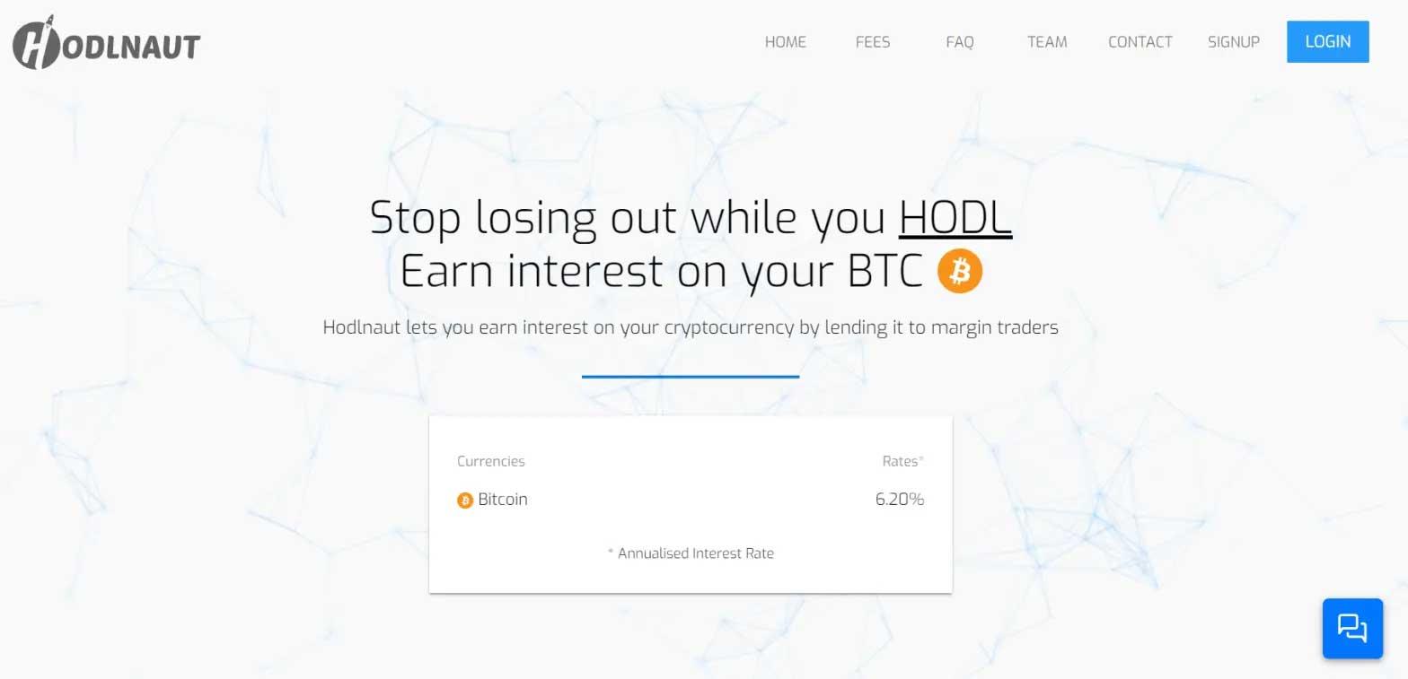 Hodlnaut Account User Guide