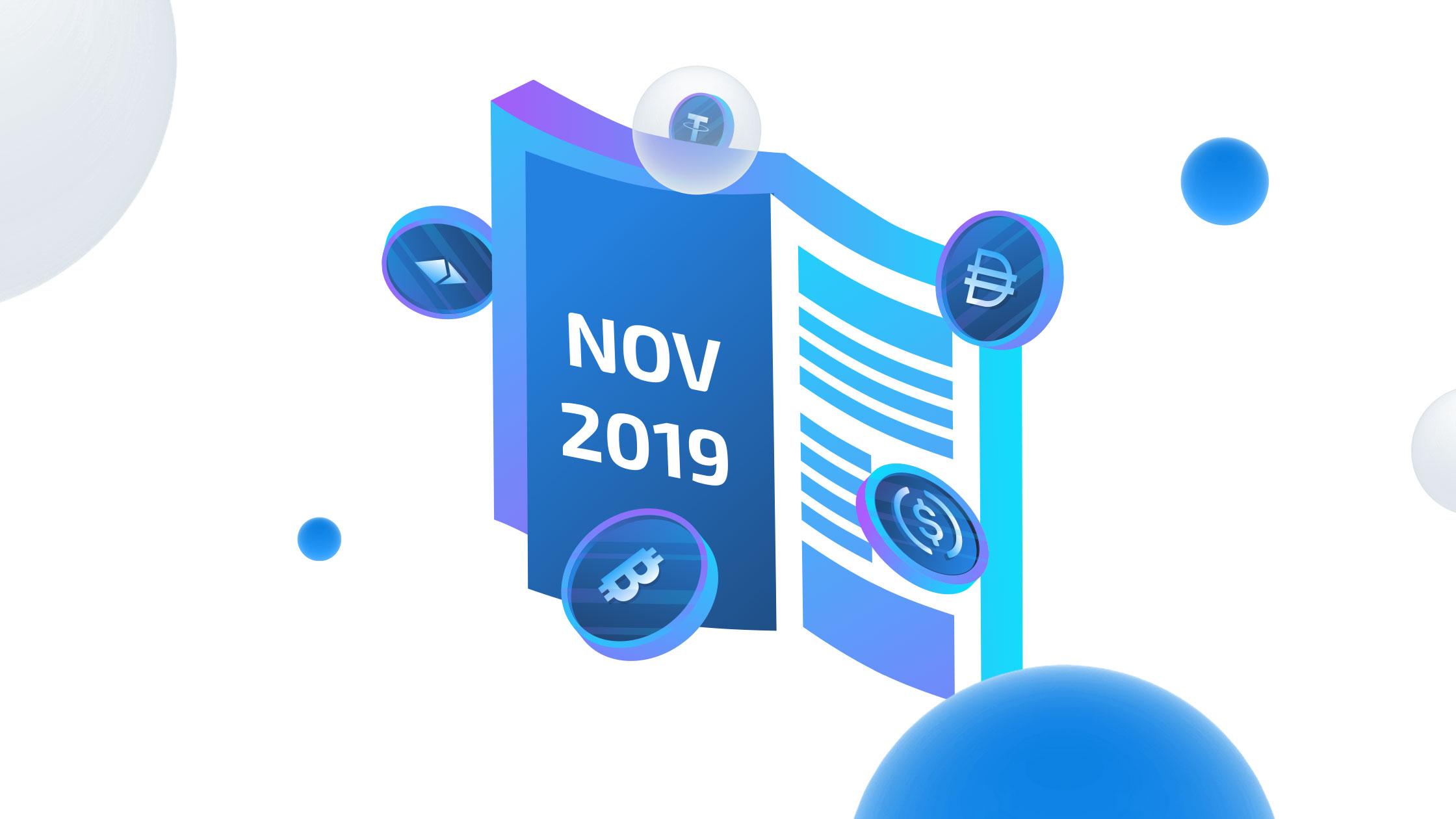Hodlnaut Newsletter — November 2019