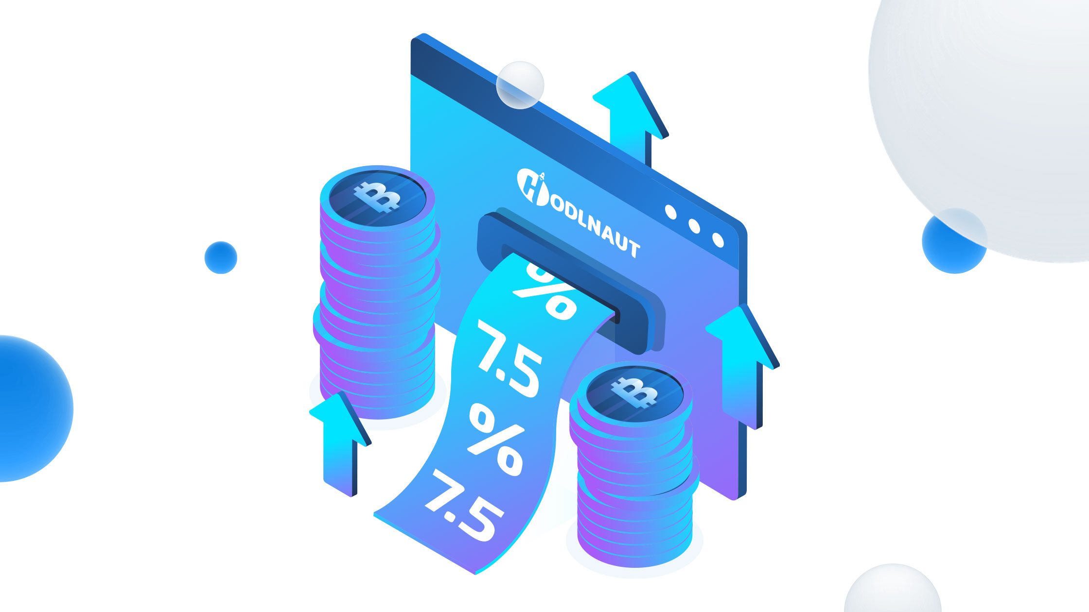 Hodlnaut Announces Tiered Interest Rates, Increases BTC Interest to 7.5% APY