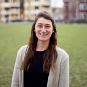 A picture of a female design strategist