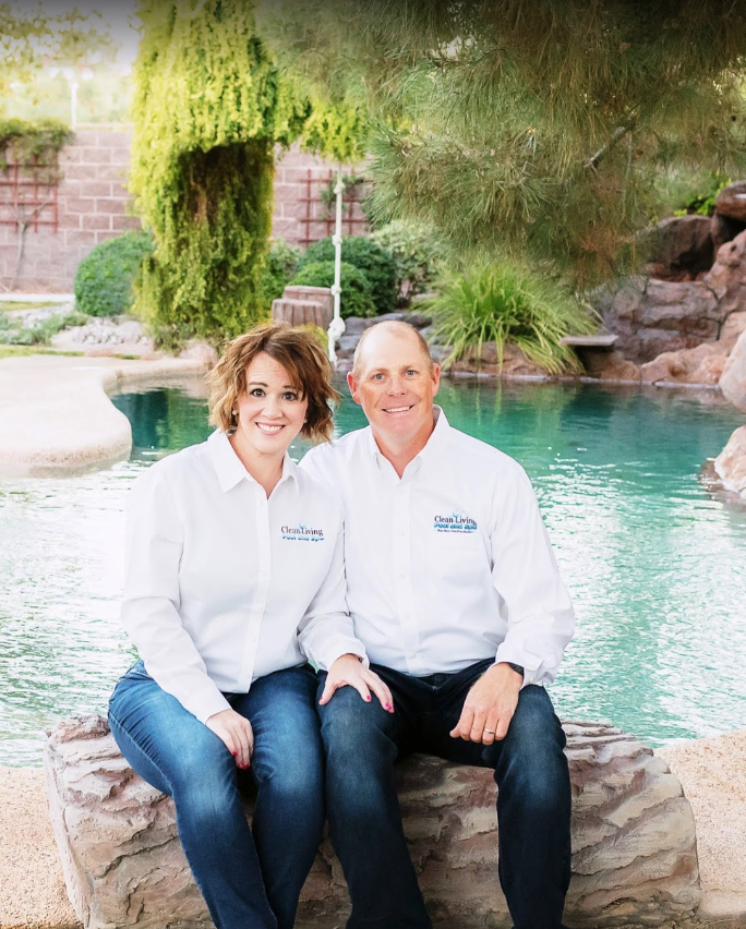 John and Julie Butler Owners of Clean Living Pool and Spa