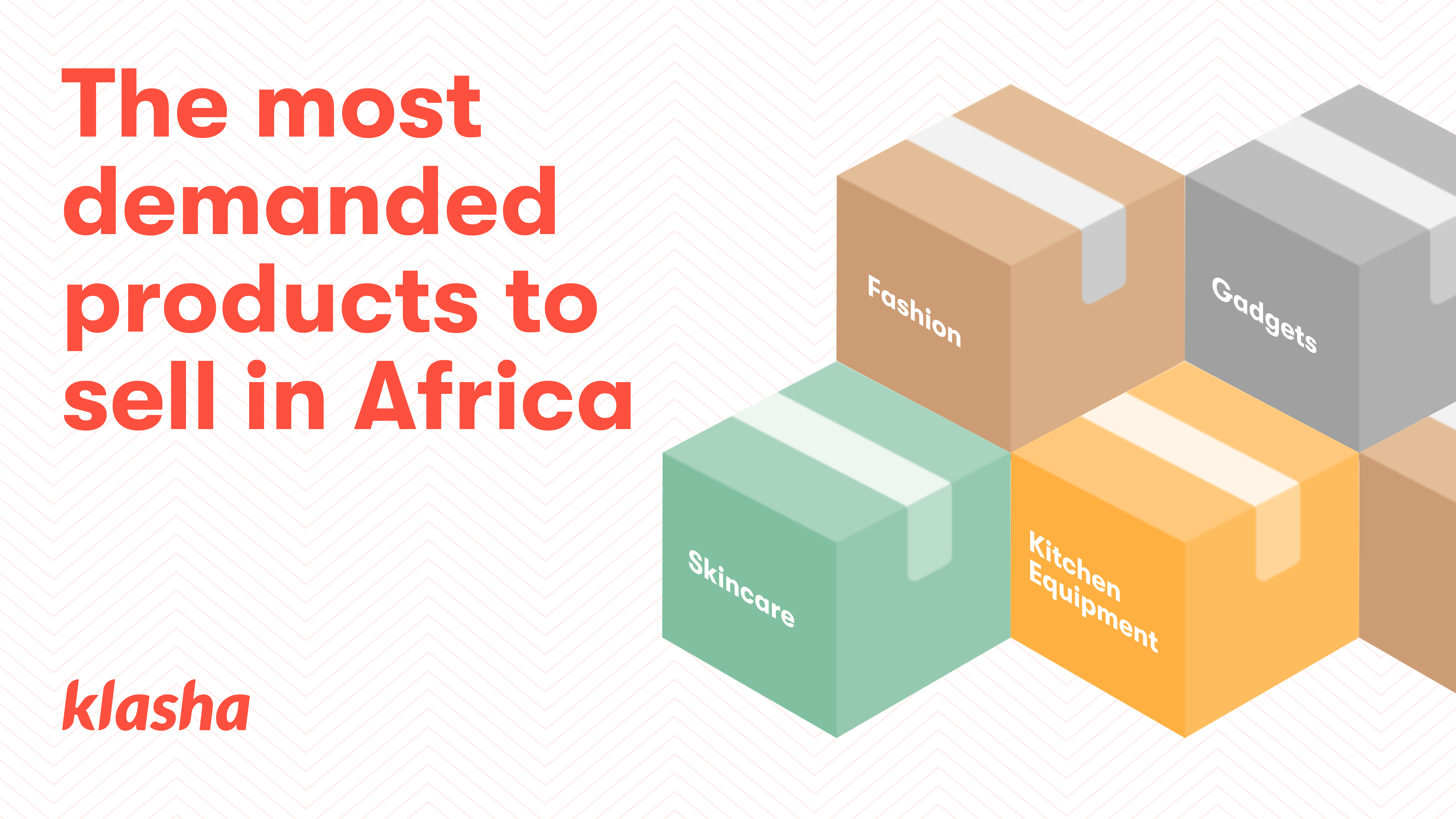 The most demanded products to sell in Africa