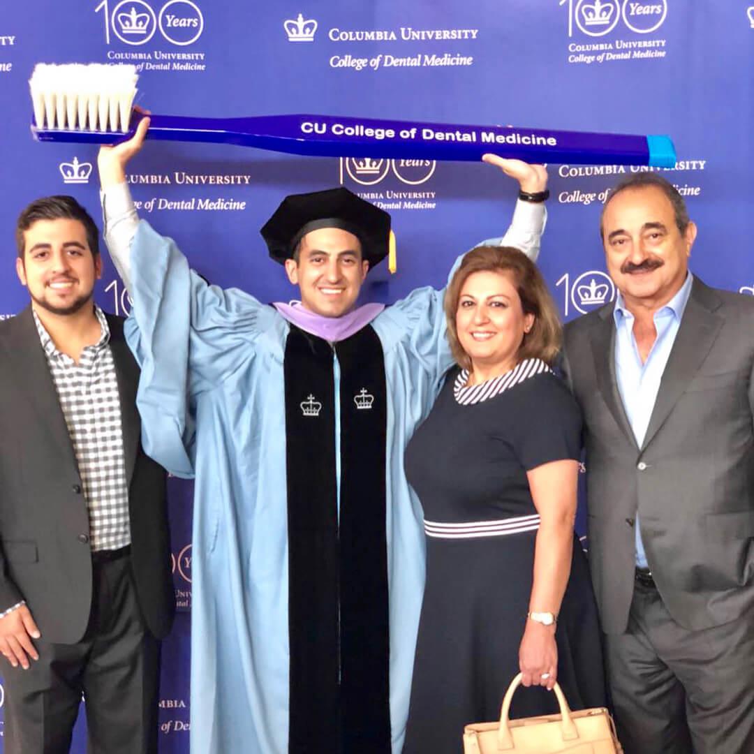 Ari graduating