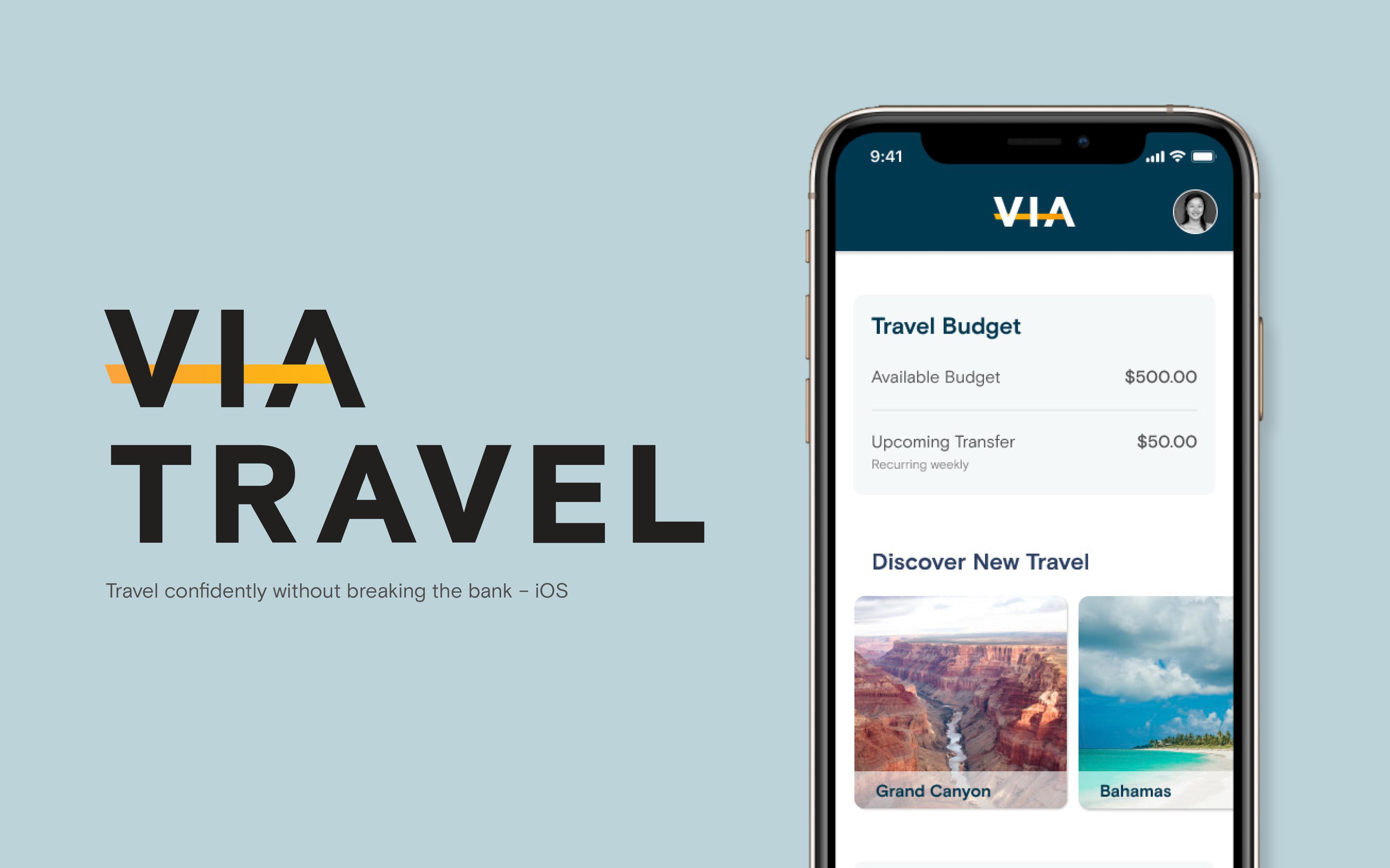 Via travel app cover image