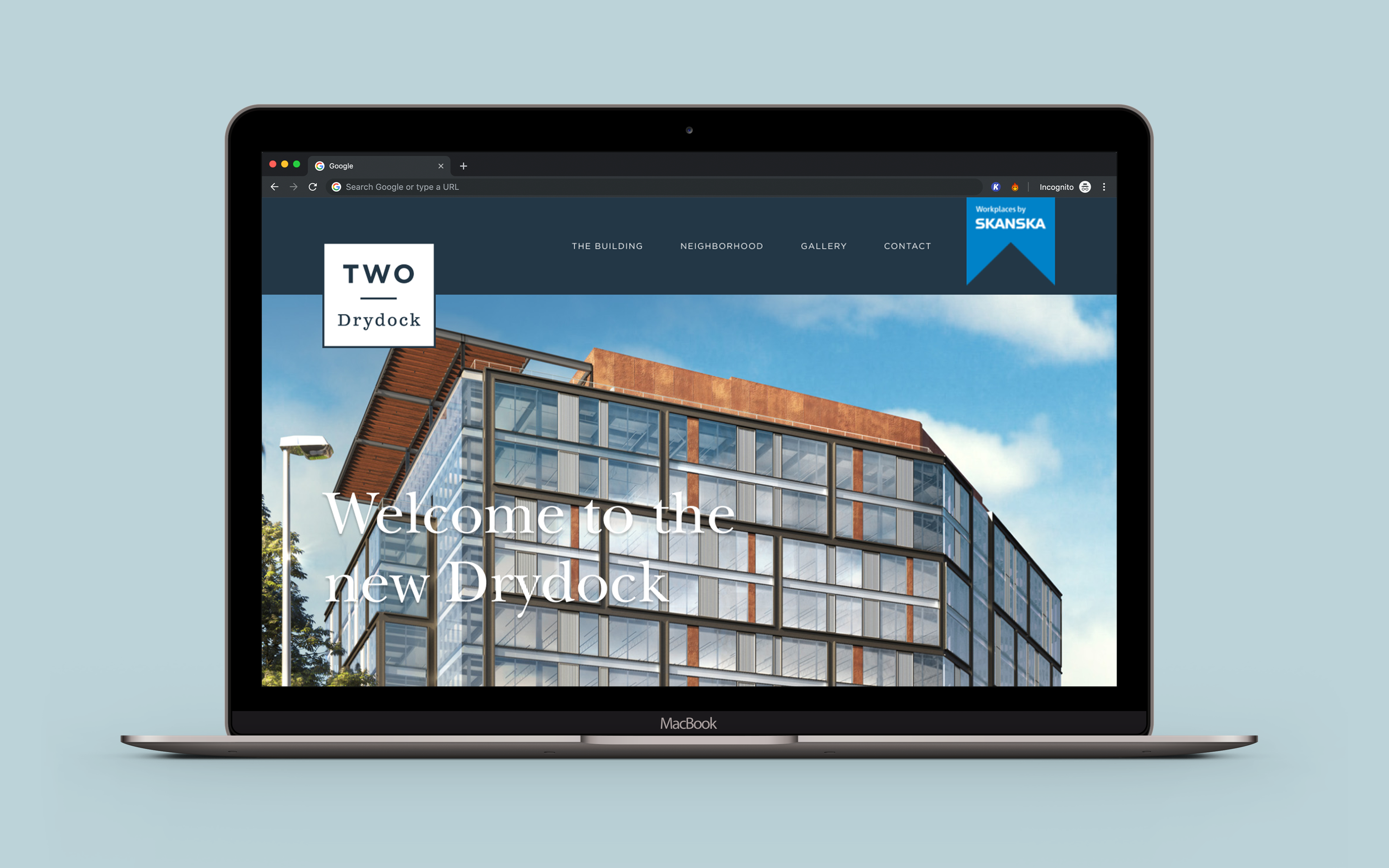 Two Drydock website cover image