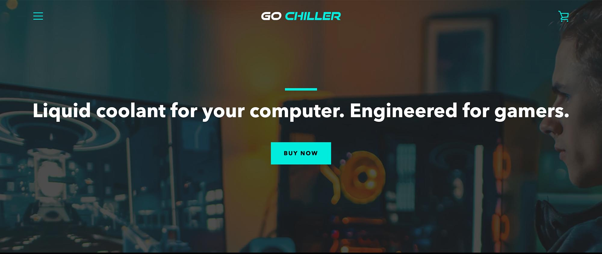 Go Chiller Liquid Coolant for your Computer Engineered for gamers