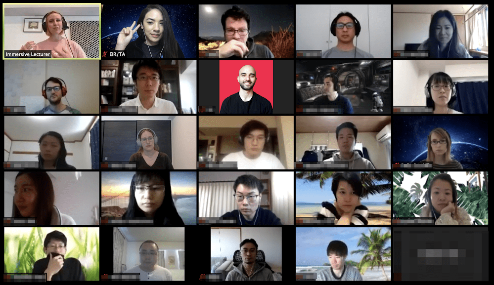 Tokyo Programming Bootcamp remote classroom experience
