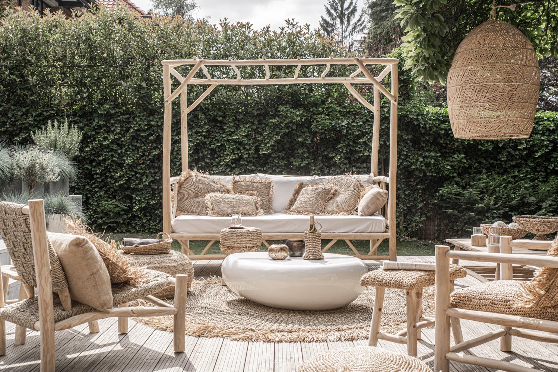 Daybed für zuhause Handgemacht im Ibiza Stil