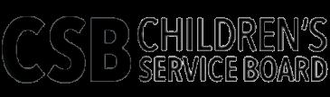 Children's Service Board logo, tiny