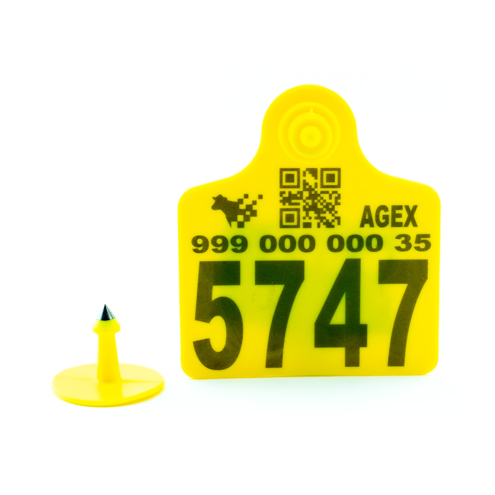 AGEX Tags (Yellow)