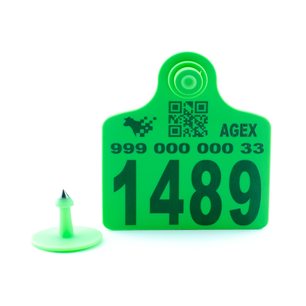 AGEX Tags (Green)