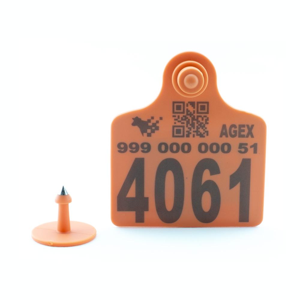 AGEX Tags (Orange)