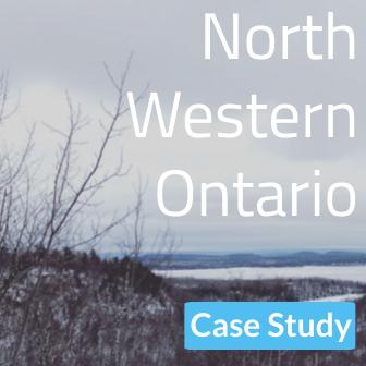 North West Ontario Logo Imgae: Thunderbay Land Scape