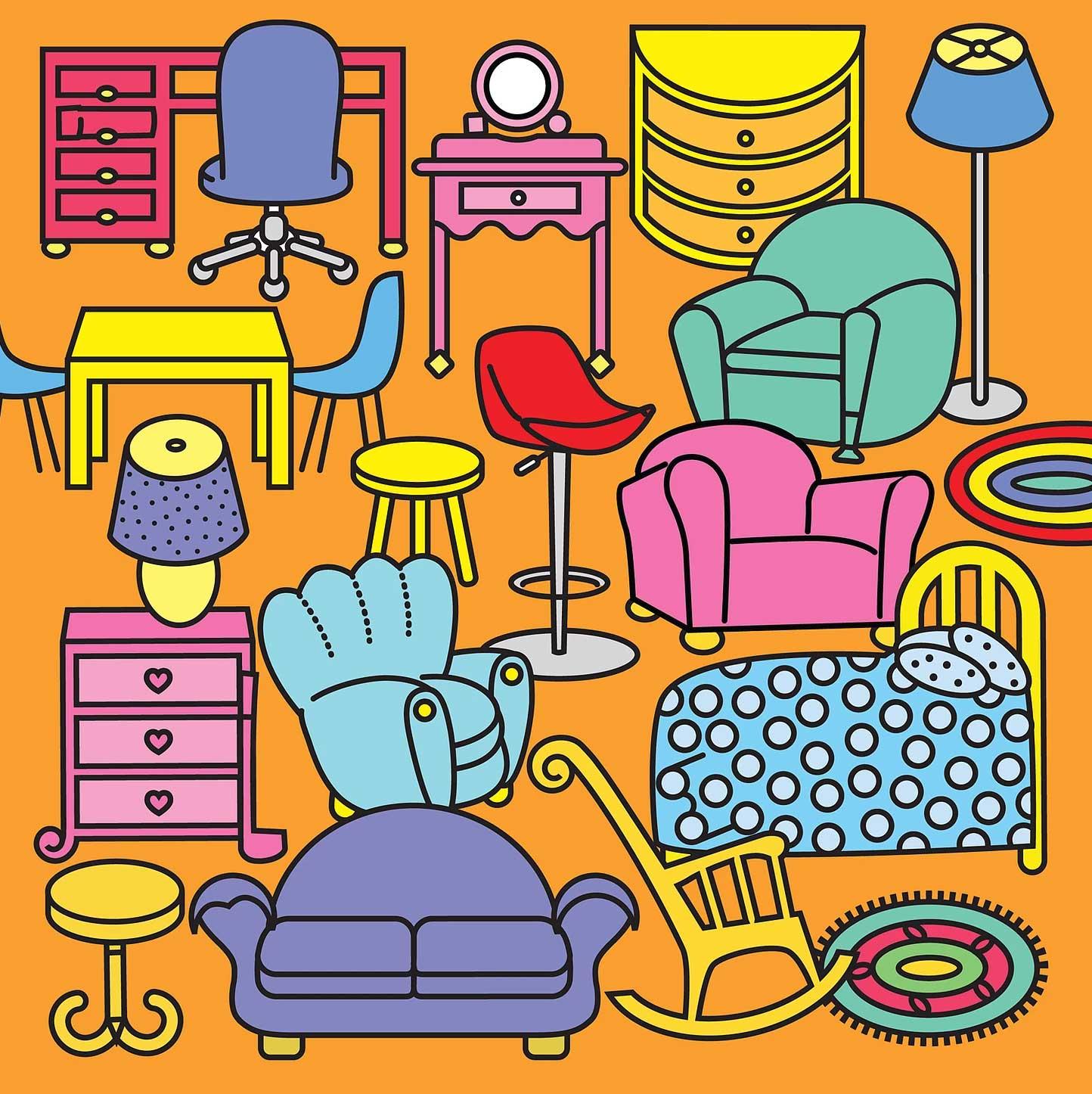 Linda Davick / Hidden Pictures (Furniture)