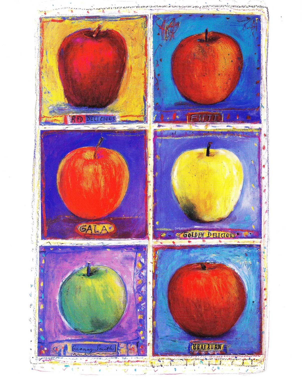 Michelle Barnes / Apples