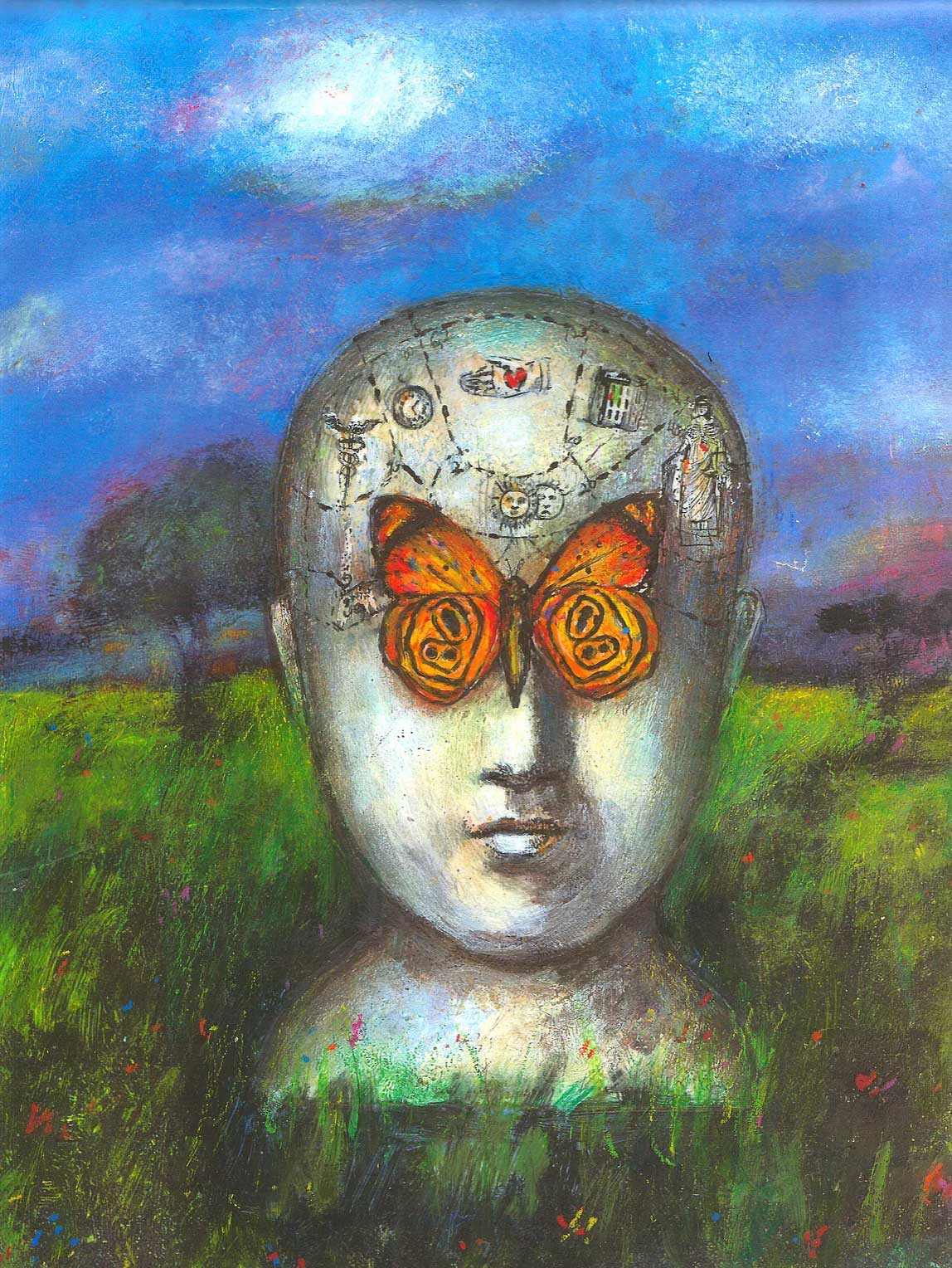 Michelle Barnes / A Beautiful Mind / Psychology Magazine