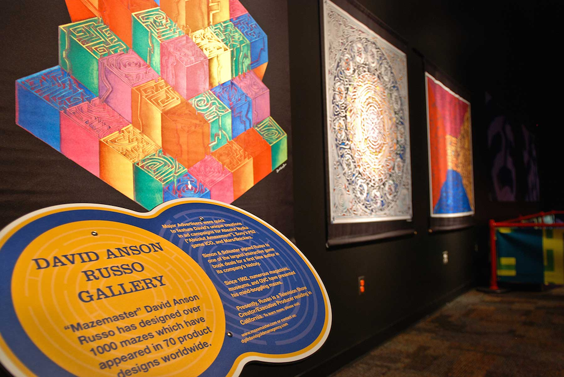 David Russo / Minotaur Mazes / N American Museum Tour