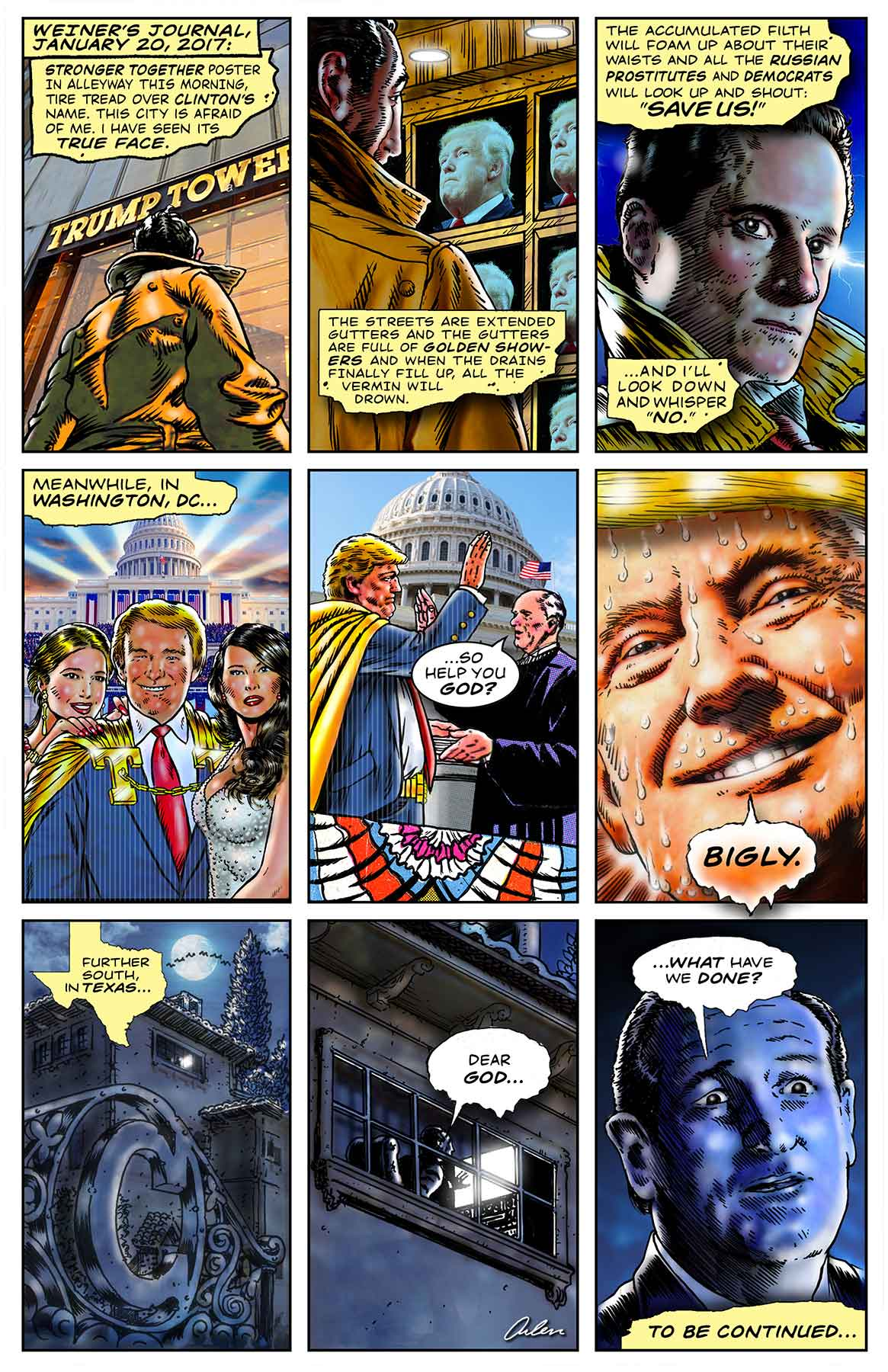 Arlen Schumer / Trump Comic