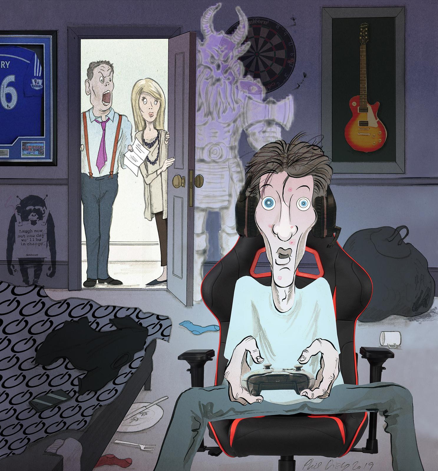 Phil Disley / Gaming Addict / Financial Times