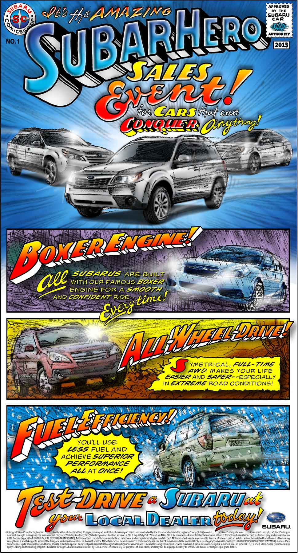 Arlen Schumer / Long Forgotten / Subaru Ad