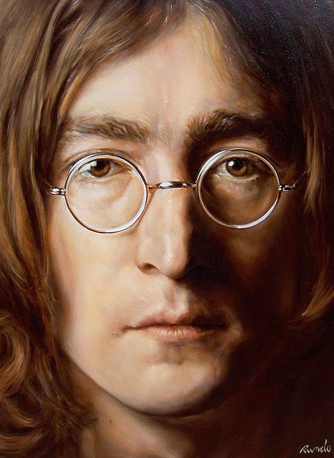 Ron Rundo / Lennon / Oil on Canvas