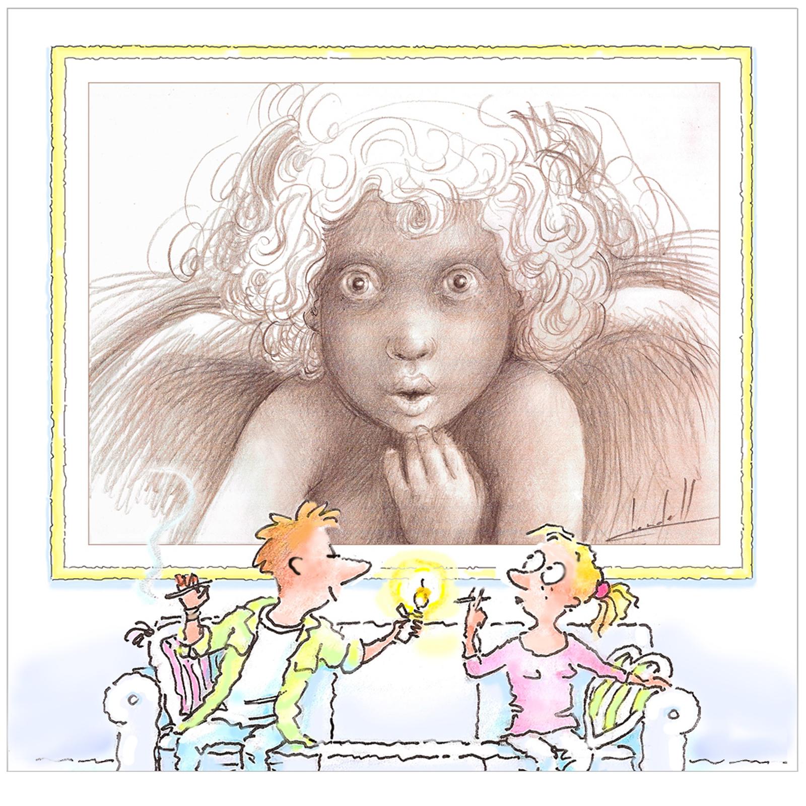 Norm Bendell / Angel Eyes / Promotion Art