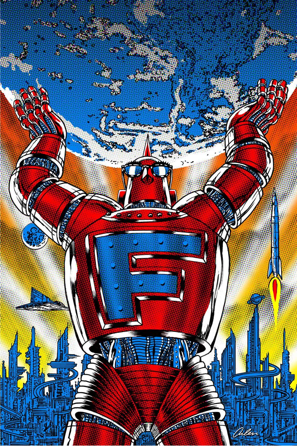 Arlen Schumer / Robot Poster / Fred Seibert