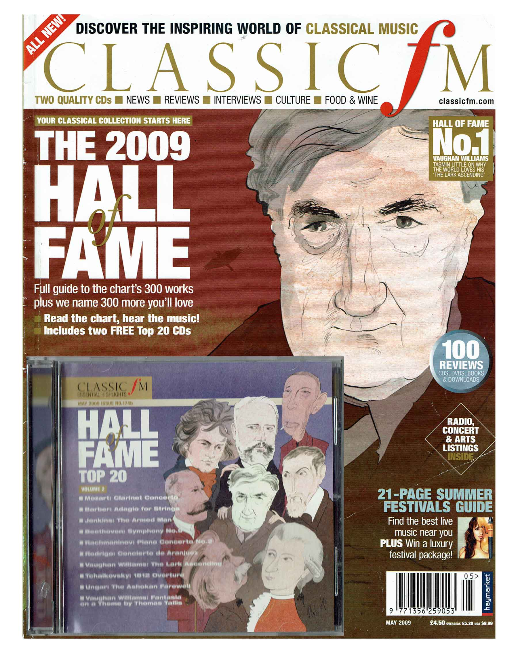 Phil Disley / Hall of Fame / Classic FM