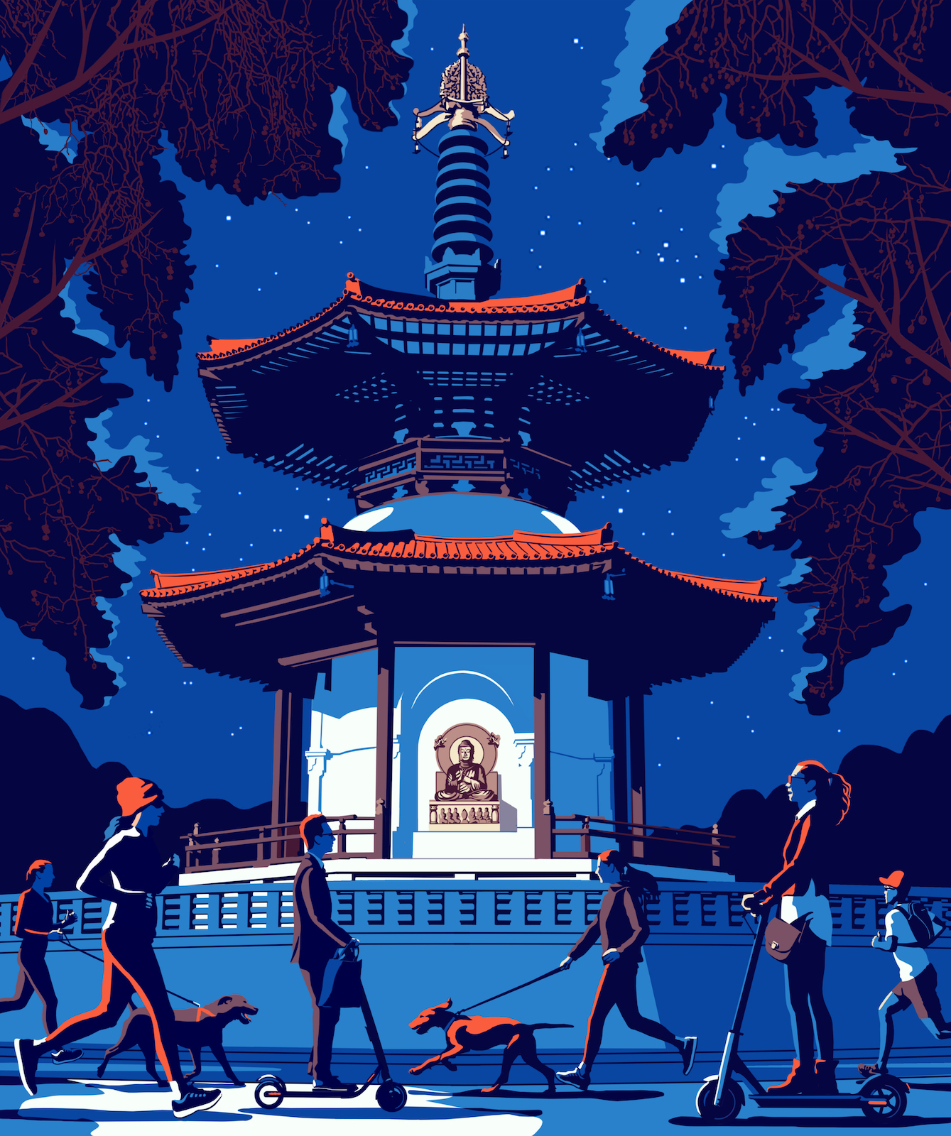 Bill Butcher / London Pagoda / The Art Movement