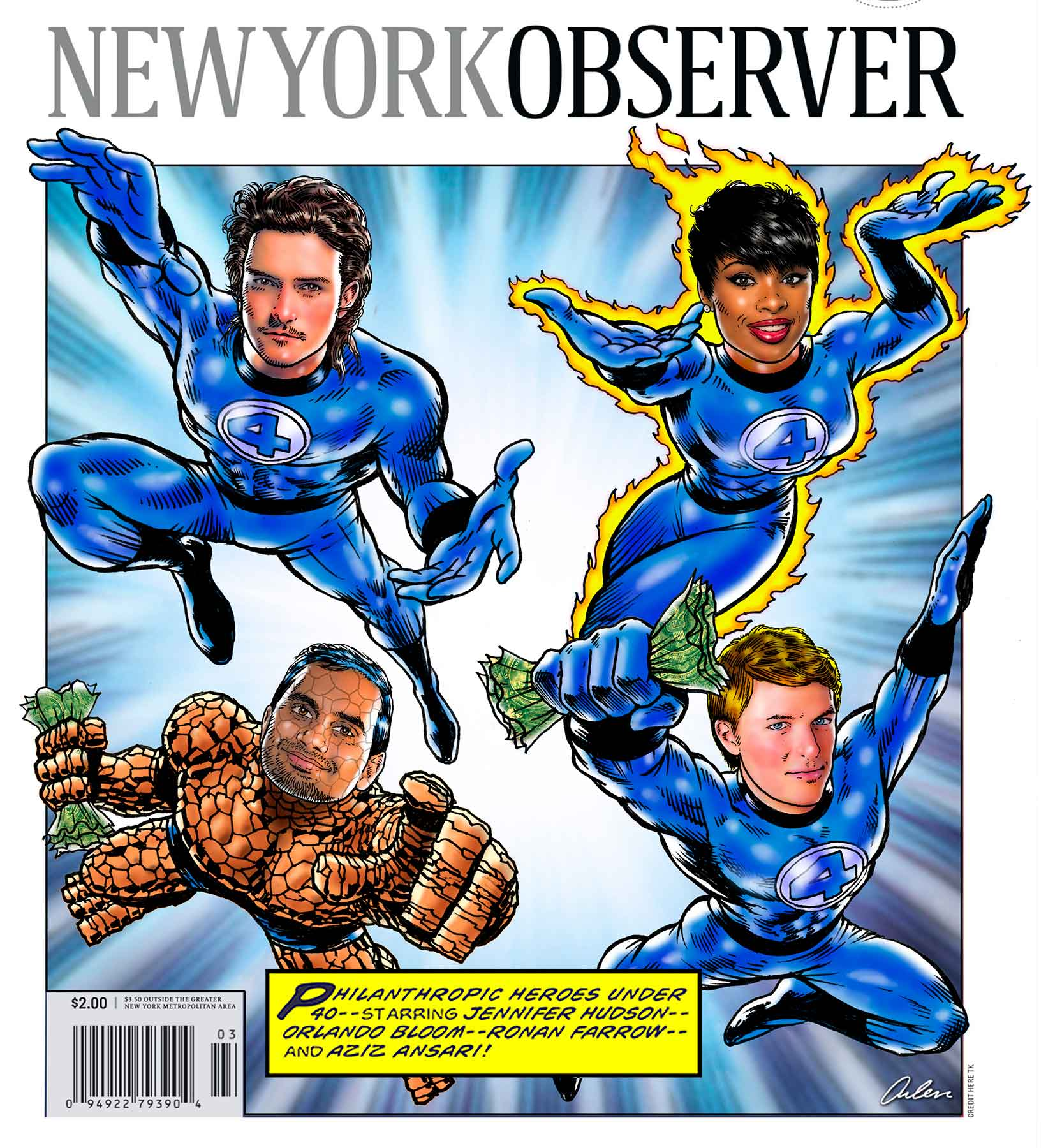 Arlen Schumer / New York Observer / Front Page / Paul Dilakian, AD
