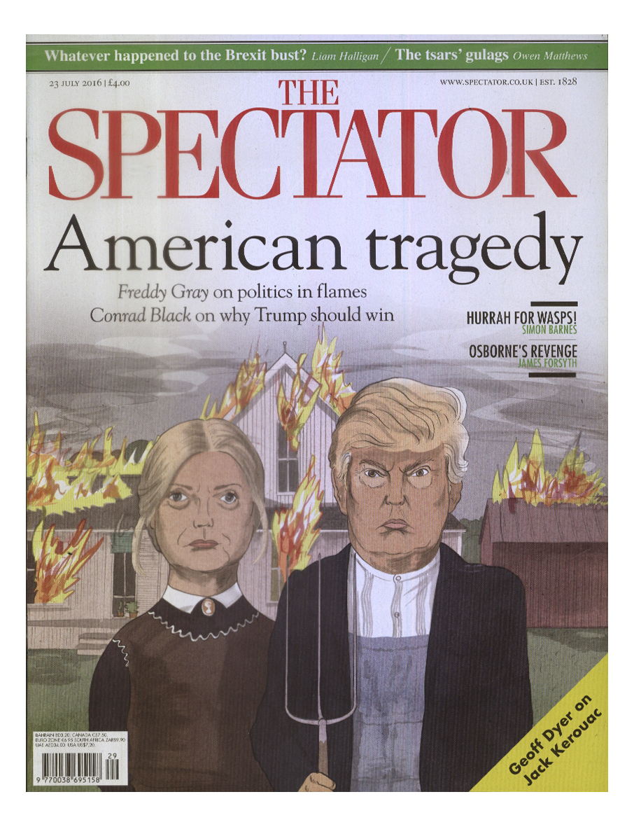 Phil Disley / Clinton & Trump / The Spectator